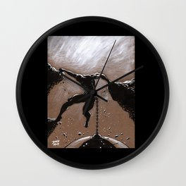 Hanging On  Wall Clock