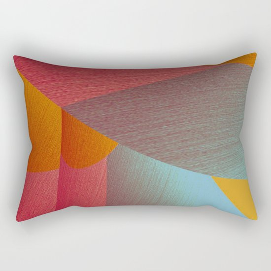 Hole in one 10 Rectangular Pillow