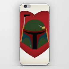 Fett Love (Boba Fett) iPhone & iPod Skin