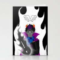homestuck Stationery Cards featuring Afraid of the Darko by catalysticskies