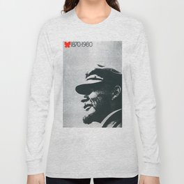 Russia, URSS Vintage Poster, 1870 - 1980 Long Sleeve T-shirt
