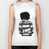 phil jones Biker Tanks featuring Phil Lynott by Denis O'Sullivan