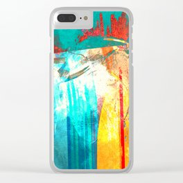 Surfing Clear iPhone Case