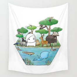 wildlife of cambodia Wall Tapestry