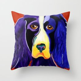 Bristol spaniel Throw Pillow