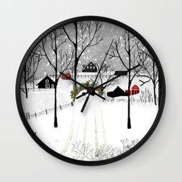 The Holly King Wall Clock