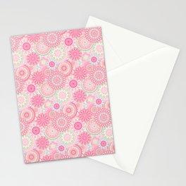 Mandala 206 (Floral) Stationery Cards