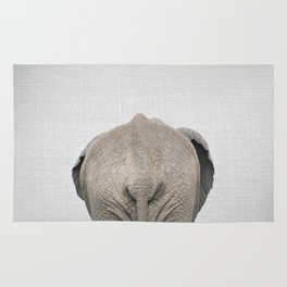 Elephant Tail - Colorful Rug