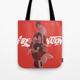 Fire Nation Babes Tote Bag