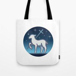 Lamb of God Tote Bag