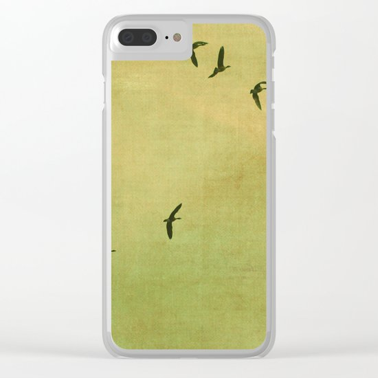 FLYING HIGH :) Clear iPhone Case