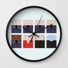Enterprise NX-01 Crew minimalist - Star Trek Enterprise ENT- Trektangle startrek - Trektangles  Wall Clock