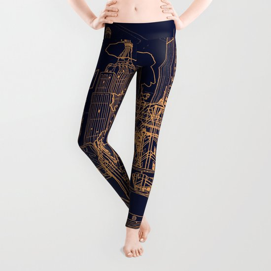 New York! Night Leggings