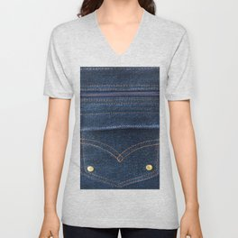 Jeans! Denims! Unisex V-Neck