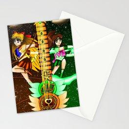 Fusion Sailor Moon Guitar #20 - Sailor Venus & Sailor Jupiter Stationery Cards