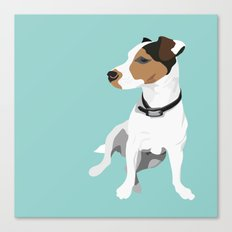 Dog - Jack Russell Canvas Print