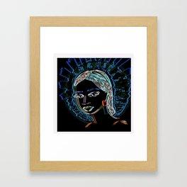 Randi Framed Art Print
