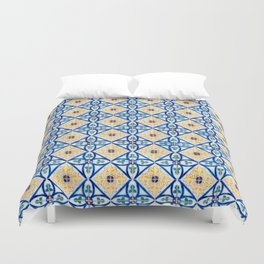 Seamless tile pattern Duvet Cover