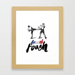French Boxe Framed Art Print