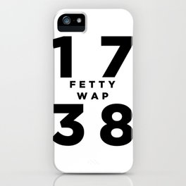 1738 Fetty Wap iPhone Case