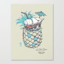 a Tropical Voyage Canvas Print