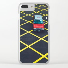 HK Taxi Clear iPhone Case