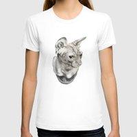 sphynx T-shirts featuring Sphynx  by KittyHatesIt