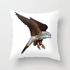Peregrine Dolphin Throw Pillow