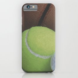 Sports Love Variety of Balls iPhone Case