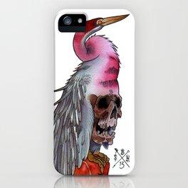 Skull Crane iPhone Case