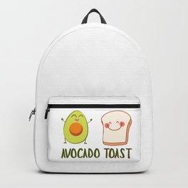 Avocado Toast Art Work | Gift Idea Backpack