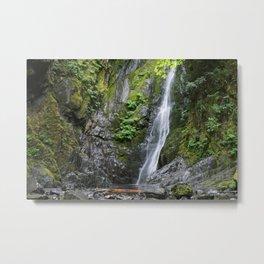Niagara Falls in Goldstream Provincial Park on Vancouver Island Metal Print