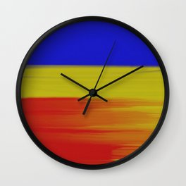 Abstract No 1 By Chad Paschke Wall Clock