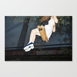 Alice, we're All mad Here Canvas Print