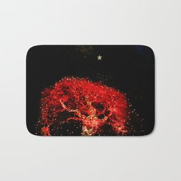 different kind of christmas tree Bath Mat
