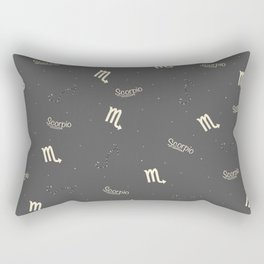 Scorpio Pattern Rectangular Pillow