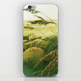 Beach Grass - Fripp Island, South Carolina iPhone Skin