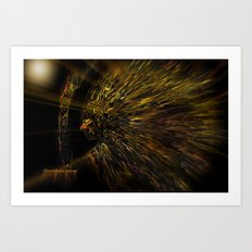 Archer and The Target Art Print
