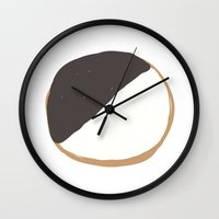 cookie Wall Clocks featuring Cookie by Andrew Lynne