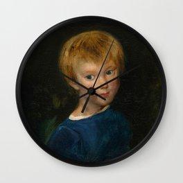 """Eugène Delacroix """"Marguerite-Juliette Pierret"""" Wall Clock"""