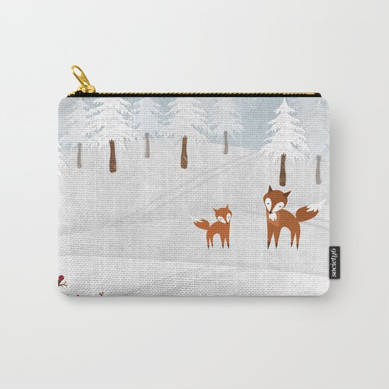 Snowstorm Carry-All Pouch
