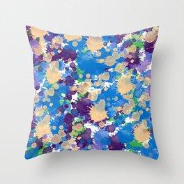 Abstract XXI Throw Pillow