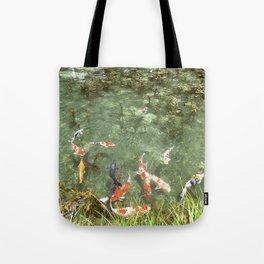 japanese carp Tote Bag