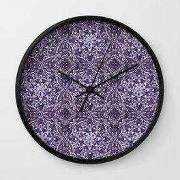 Vintage Bohemian Pattern Wall Clock