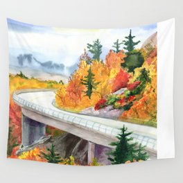 Road to Asheville Wall Tapestry