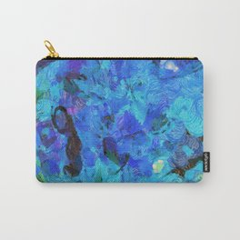 Blue 11-Van Gough Carry-All Pouch