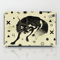 wolf iPad Cases featuring Wolf by Anya Volk