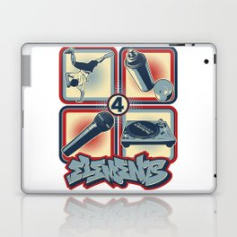 Four Elements of Hip Hop Laptop & iPad Skin
