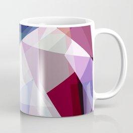Modern Girly Pink Purple Geometric Kaleidoscope Coffee Mug