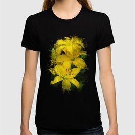 Lily Watercolor Art T-shirt